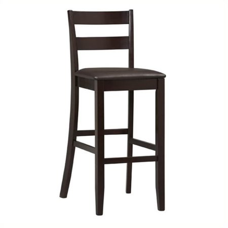 """Hawthorne Collection 30"""" Faux Leather Bar Stool in Rich Espresso - image 1 of 1"""