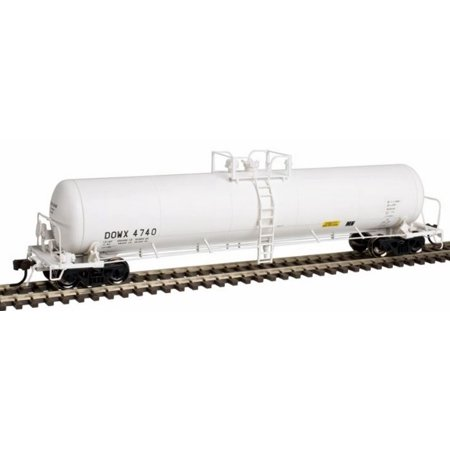 Chemical Tank Car - Atlas 50002440 N Dow Chemical DOWX 20,700-Gallon Tank Car #4740