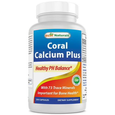 Best Naturals Coral Calcium Plus 1000 mg 250