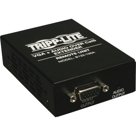 Tripp Lite B132-100A VGA Cat5 Extender with (Audio Video Extender)