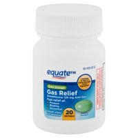 Equate Extra Strength Gas Relief Softgels, 20 count