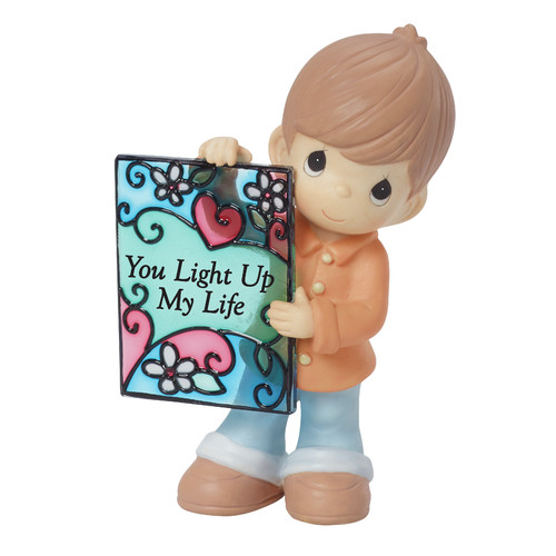 Precious Moments  You Light Up My Life  Figurine