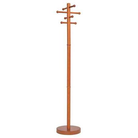 Buddy Products Wood (BUDDY PRODUCTS 9299-17 Coat Tree,Stand Alone,Wood,Cherry )