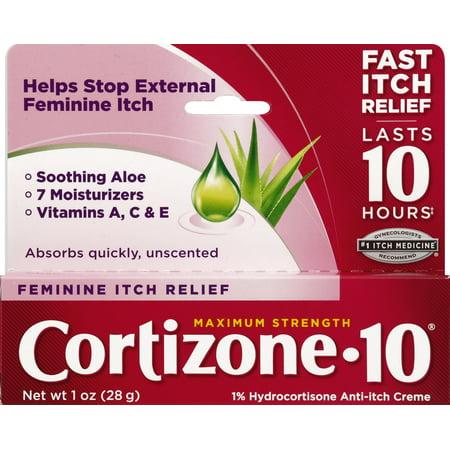 Feminine Relief - Cortizone 10 Feminine Relief Anti-Itch Crème 1oz