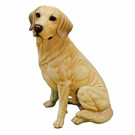 Design Toscano Golden Labrador Retriever Dog Statue