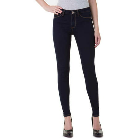 No Boundaries Juniors' Essential High Rise Super Skinny Jeans