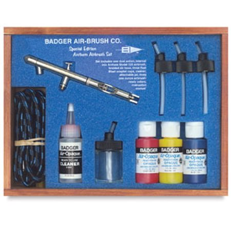 Badger Air-Opaque Airbrush Color - 1 oz, (Best Badger Air-brush Acrylic Paints)