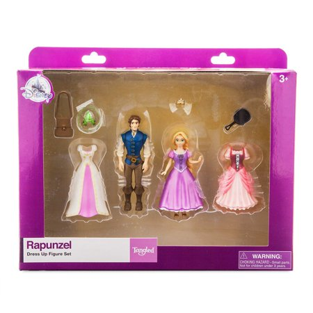 Disney Parks Rapunzel Dress Up Figure Set New with Box