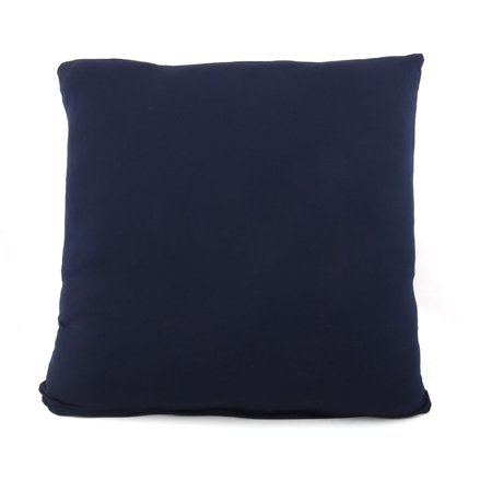 Pillow Cushion Cover Case Square 45 x 45cm Pillowcases Home Decorative Navy Blue