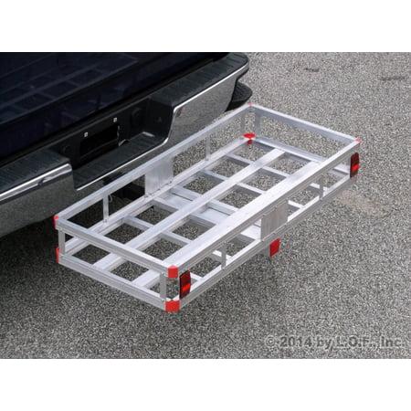 Bumper Buddy Carrier (Bumper Hitch Cargo Carrier Basket 500lb Capacity for 2