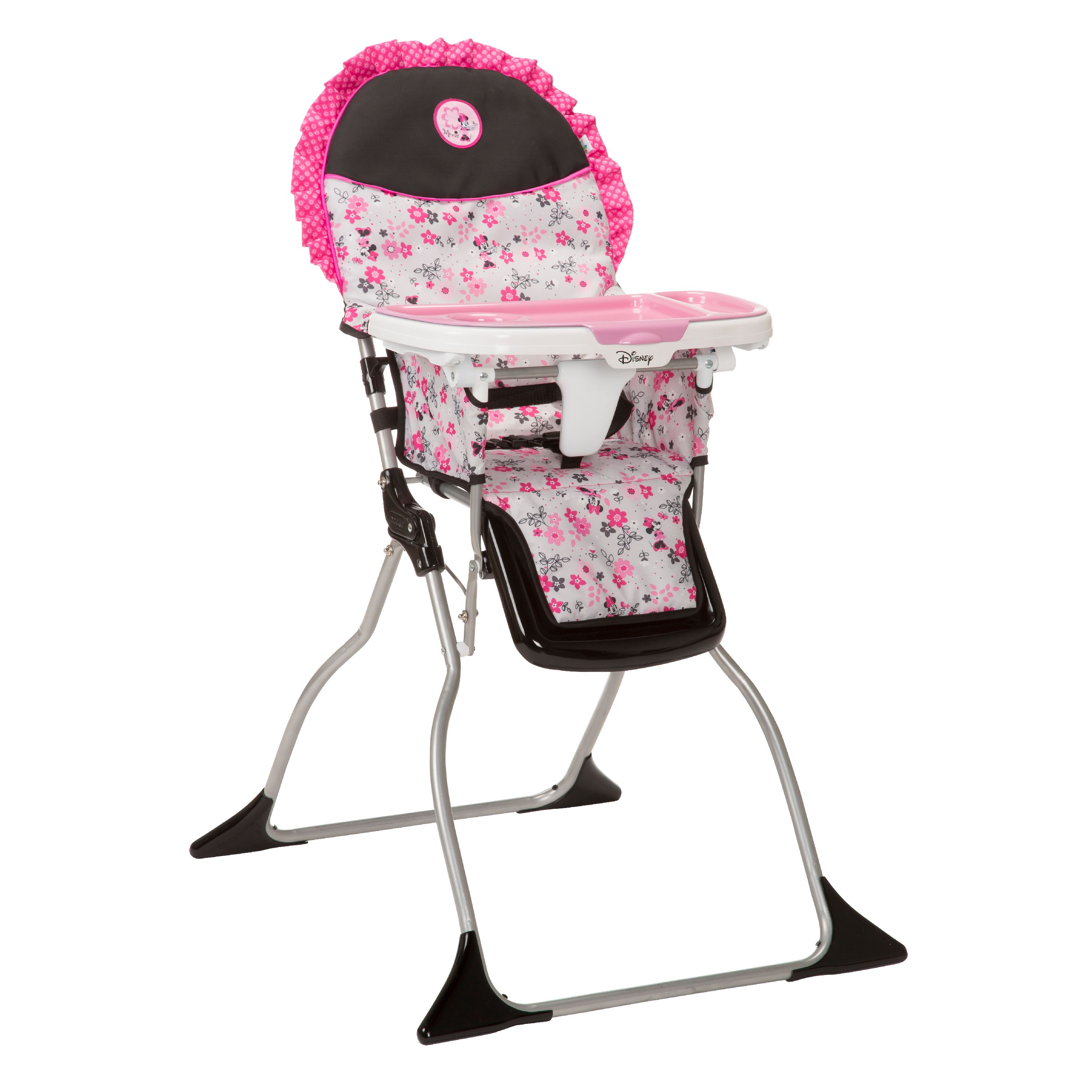 Disney Baby Simple Fold Plus High Chair, Minnie Garden Delight