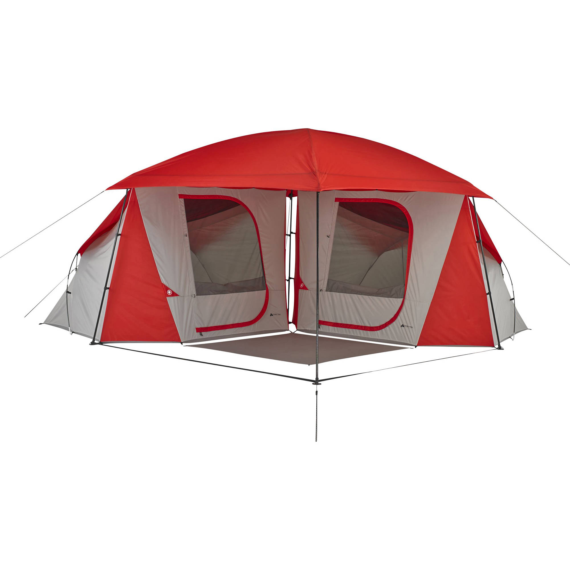 ozark trail 8 person dome connectent with versatile canopy walmartcom - U Shape Canopy 2015