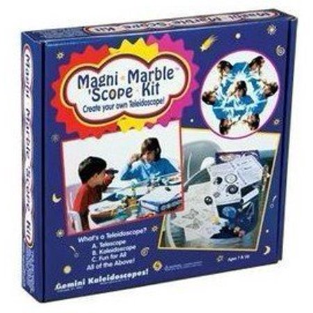Magni-Marble Scope Kit by, Make & Paint your own cool Teleidoscope - a Telescope & Kaleidoscope in 1 By Toysmith