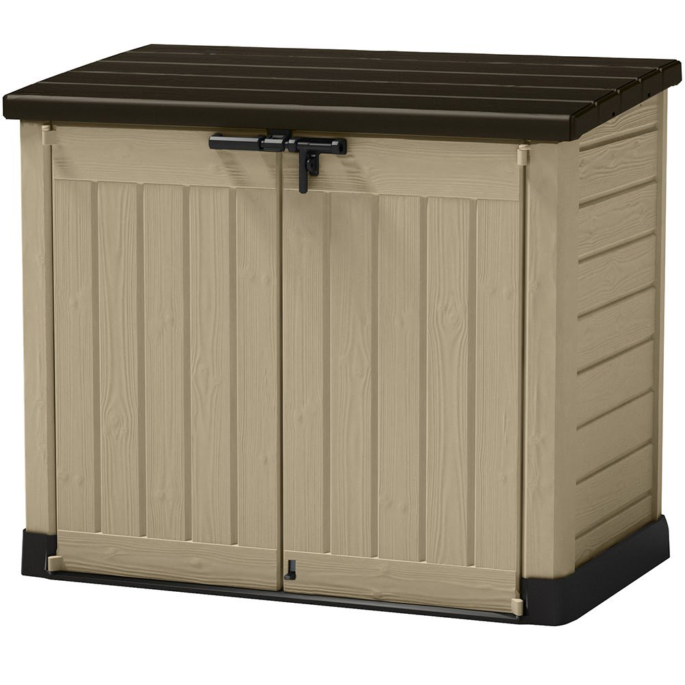 Keter Store-It-Out MAX Outdoor Resin Horizontal Storage Shed  sc 1 st  Walmart : storage sheds vinyl  - Aquiesqueretaro.Com