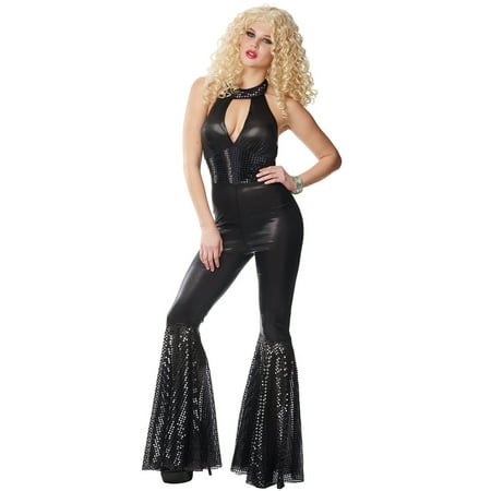 Plus Size 70's Costumes For Women (70's Jumpsuit Adult Costume)
