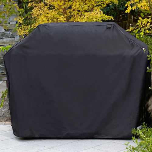 "Sure Fit 80"" Mega Premium Grill Cover, Black"