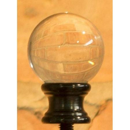- Urbanest Urbanest Crystal Ball Lamp Finial, 1-5/8