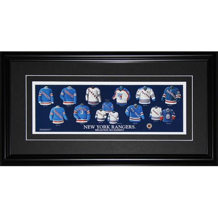 buy popular 56014 a1243 New York Rangers Jersey Evolution NHL Hockey Memorabilia ...