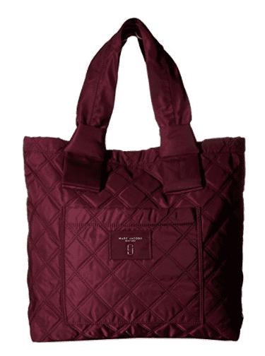 Marc Jacobs Women's Nylon Knot Tote Plum Handbag M0011197-535