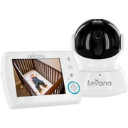 "Levana Astra, 3.5"" Video Baby Monitor, Pan/Tilt/Zoom, Talk to Baby"