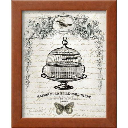 French Birdcage I Framed Print Wall Art By Gwendolyn Babbitt