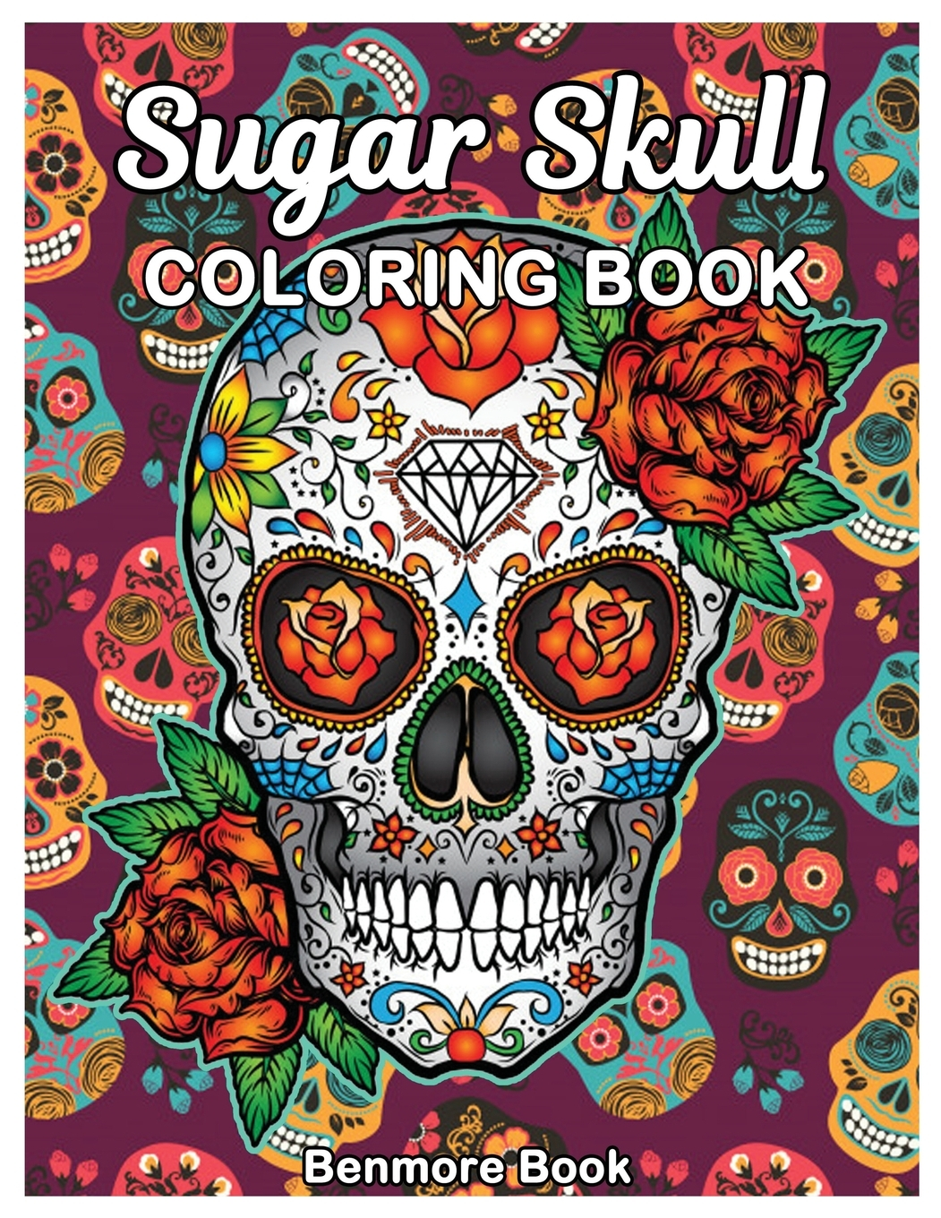 - Sugar Skull Coloring Book: Midnight Adult Coloring Book, Stress Management Coloring  Book For Adults With Fun Skull Designs, For Relaxation (Paperback) -  Walmart.com - Walmart.com