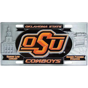Oklahoma State Collector's License Plate
