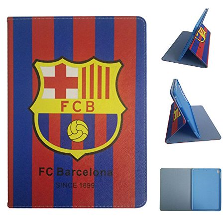 ipad Pro 11 2018 Version Case,Football Team Club PU Leather Flip Case for ipad Pro 11 inch (FC Barcelona)