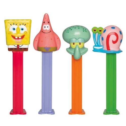 Spongebob Pez Dispenser and Candy Set (Each) - Party Supplies