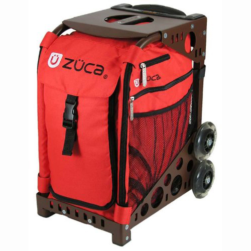 Zuca Sport Chili Insert Bag (Red) with Black Frame