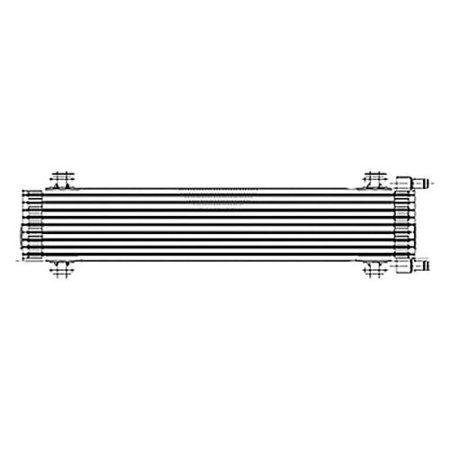 NEW AUTOMATIC TRANSMISSION OIL COOLER ASSEMBLY FITS 2006-2010 FORD MUSTANG