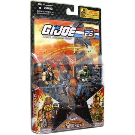 Gi Joe - Hasbro Gi Joe Comic 2pk Torch/ripper Issue 30