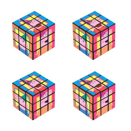Peppa Pig Mini Puzzle Cubes / Favors - Jigsaw Pig