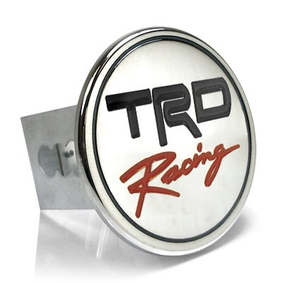Toyota TRD Racing Chrome Tow Hitch Cover