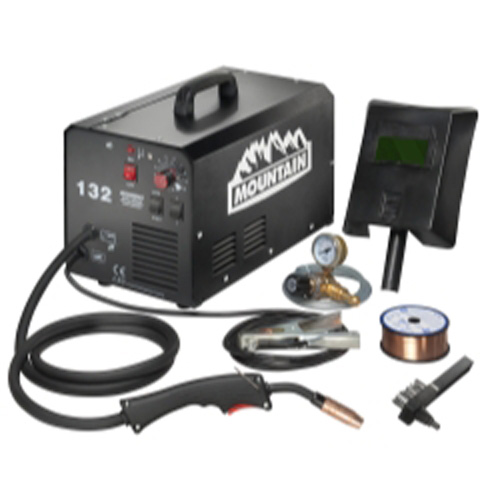 Mountain -MG132 120-Amp Commercial Portable (115-Volt) MIG Welder