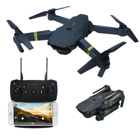 Drone with Wide Angle 720P 2MP HD Camera WIFI FPV RC Foldable Arm Quadcopter Cooligg S168