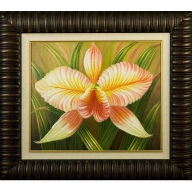 Artmasters Collection KM90077-3559NL Tropical Bloom II Framed Oil Painting - image 1 of 1