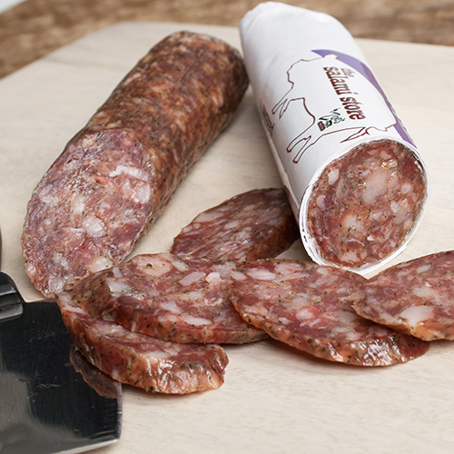Uncured Ghost Pepper Salami by Zoe's Meats by Zoes Meats