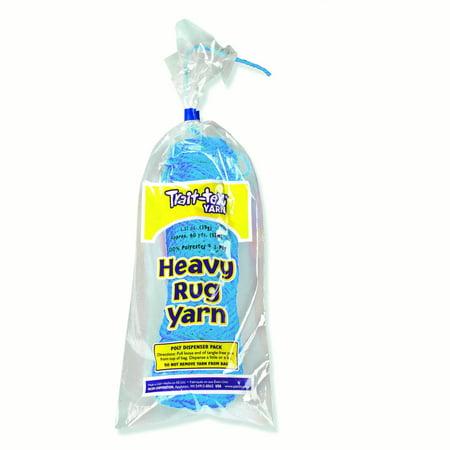 Pacon® Trait-tex® Heavy Rug Yarn, True Blue - 60 yards per pack, 6 packs