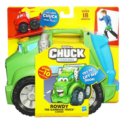 Ton Chuck Rowdy Garbage Truck Carrier