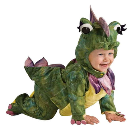 Rubies Infant Boys & Girls Plush Green Dragon Costume Noah's Ark (Noah's Ark Baby Bear Costume)