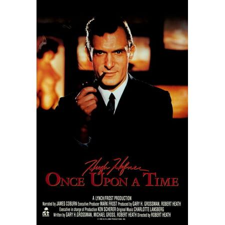 Hugh Hefner  Once Upon A Time  1992  27X40 Movie Poster