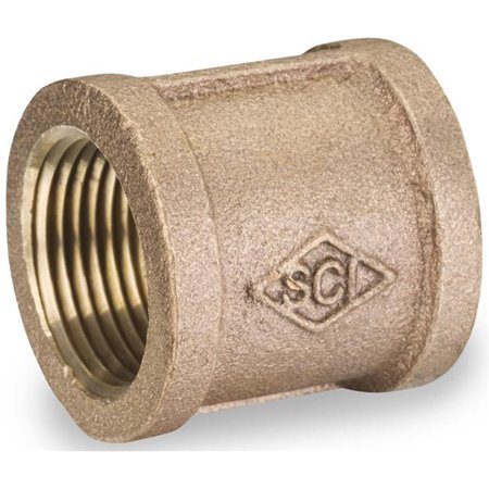 Image of Smith-Cooper International 883210767 1 in. Bronze Lead Free Malleable Coupling