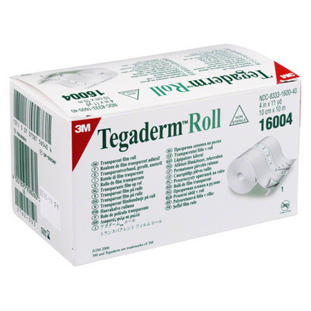3M  Transparent Film Dressing  Tegaderm Roll 4