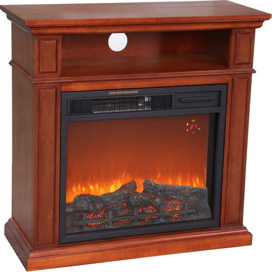 1500w Hearth Trends Small Media Infrared Fireplace