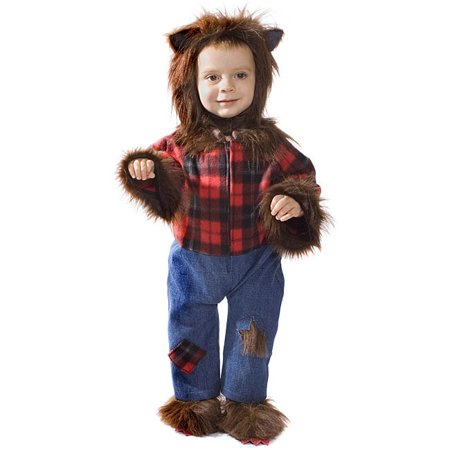 Dress Up America  Kid's Wolfman Costume 6 - 12 Months - Wolfman Costumes