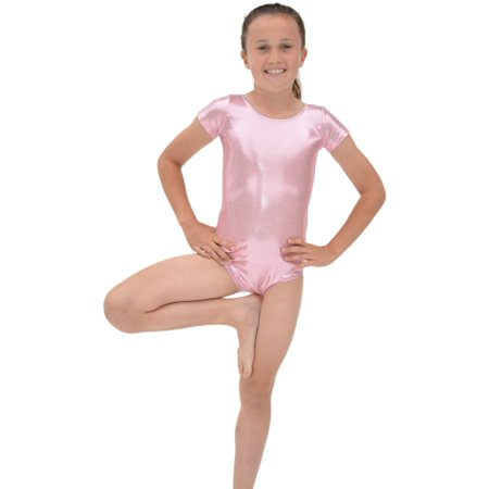 e325aade9a290 Stretch is Comfort - Girl s Mystique Spandex Leotard - Small (6 ...