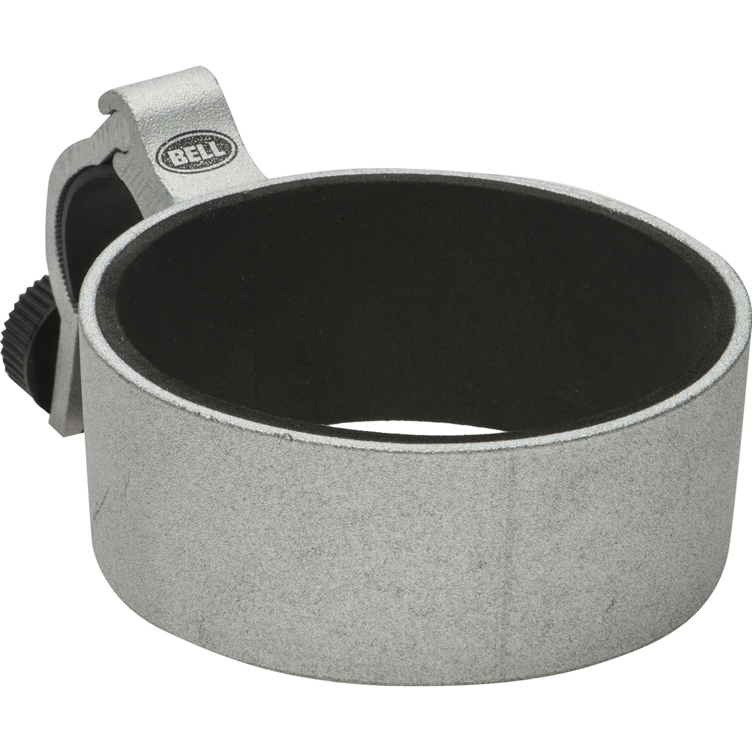 Bell Sports Clinch 350 Bicycle Cup Holder, Silver