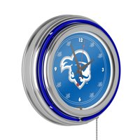 Seton Hall University Neon Clock - 14 inch Diameter