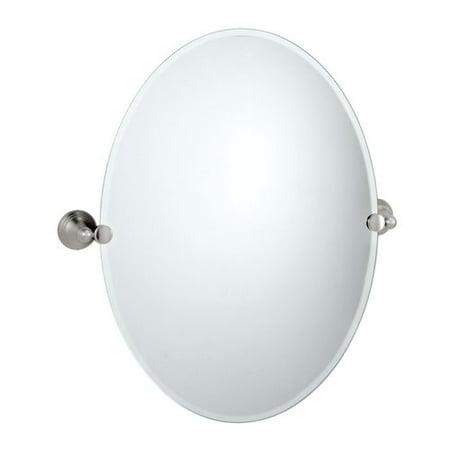 Gatco Glass Mirror - Gatco Charlotte Oval Wall Mirror